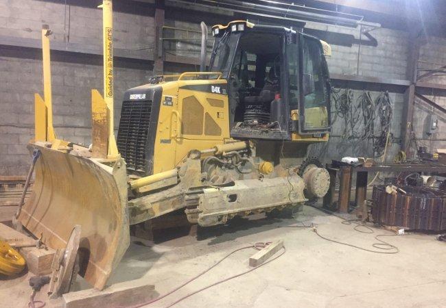 Heavy machinery repair