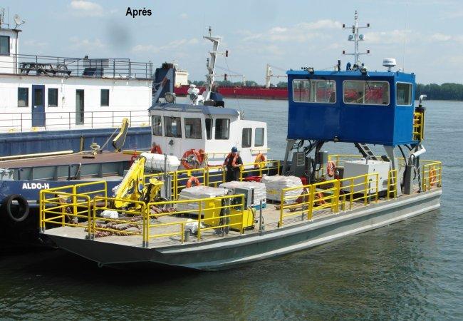Transformation de navires