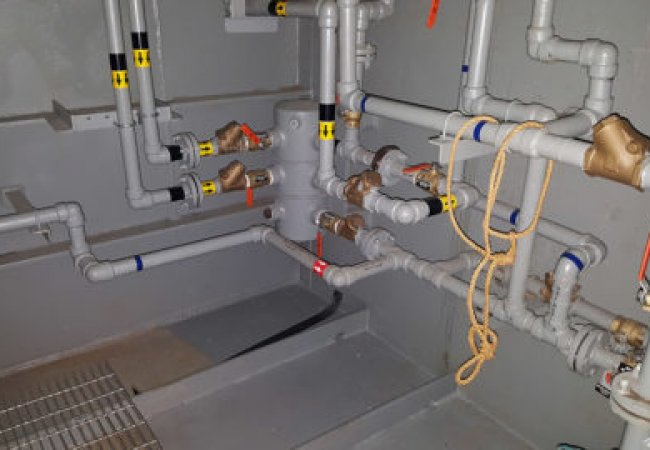 Various piping projects
